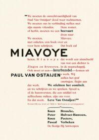 Miavoye Koen Peeters, Pascal Verbeken